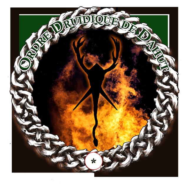 Emblème de la Prêtrise de Cernunnos Dieu de Vie et des Animaux