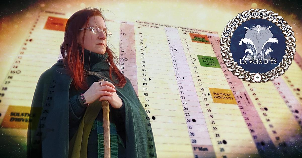 Fonctionnement du calendrier païen : atelier en ligne