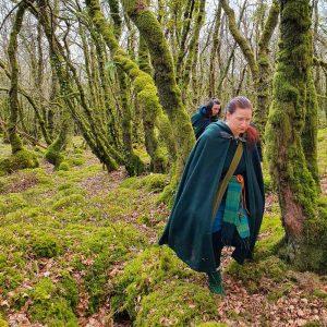 En route pour l'Équinoxe de Printemps dans les bois de Neved