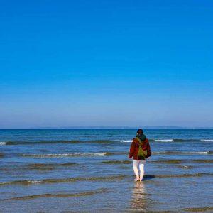 Yavanna face à la Baie d'Ys lors de la Fête des Eaux